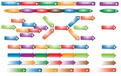 Stock Illustration of arrow button