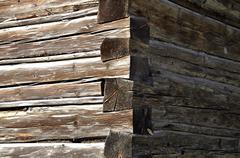 wall wooden board - stock photo