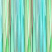 Beautiful stripy background in green - stock illustration