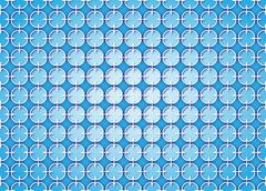 Stock Illustration of abstract background Cross linked blue