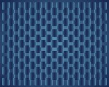 background dark blue  squares - stock illustration