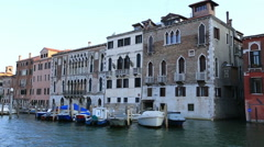 Water Trip on the Grand Canal (Canale Grande) Stock Footage