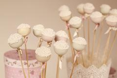 Cake pops Stock Photos