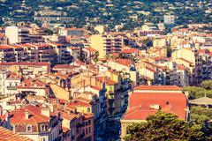 Cannes France Cityscape. Stock Photos