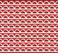 Red ripples pattern Stock Illustration