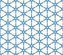 Blue triangular grid Stock Illustration