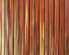 Vertical abstract wooden slatted background - stock photo