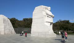 The Martin Luther King Jr. Memorial Stock Photos
