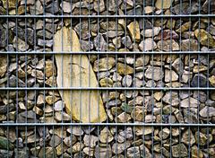 Stock Photo of imprisoned stone