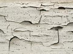 Stock Photo of old white paint