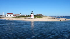 Nantucket Lighthouse Stock Footage