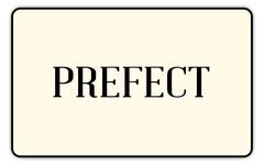 Prefect Stock Illustration