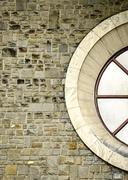 The circular window Stock Photos