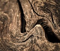 Stock Photo of ripples on old wood