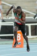 Boniface Ontuga Mweresa of Kenya - stock photo