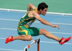 Bernardus Pretorius of South Africa - stock photo