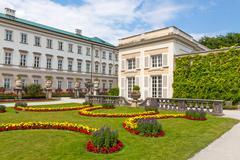 Mirabell Garden, Salzburg - stock photo