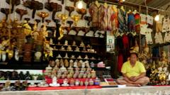 Floating Market - Thailand Stock Footage