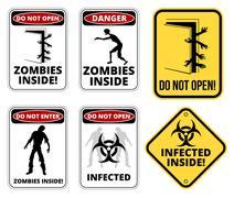 quarantine - stock illustration