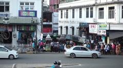 Streetlife Sri Lanka Stock Footage
