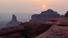 Canyonlands National Park Sunset Scenic Utah Evening Stock Footage