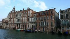 Stock Video Footage of Water Trip on the Grand Canal (Canale Grande)