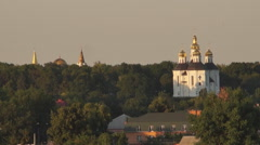 An ancient orthodox church Stock Footage