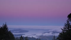 Mount Tamalpais Timelapse Stock Footage
