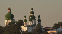 Monastery, an ancient orthodox church Stock Footage