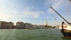 City View of Venice (Venezia) Stock Footage