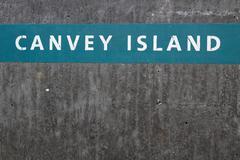 Sea Wall, Canvey Island, Essex, England Kuvituskuvat