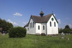 St Katherine's Church / Heritage Centre, Canvey Island, Essex, E - stock photo