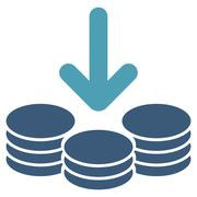 Stock Illustration of Income Icon from Commerce Set