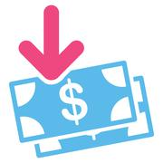Gain Icon from Commerce Set Stock Illustration