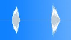 Cartoon pitched squeak Sound Effect