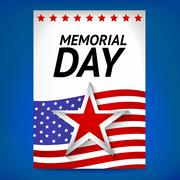 Stock Illustration of Memorial day