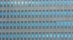 Modern office building establishing shot Stock Footage