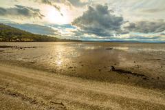 Neck Game Reserve Tasmania - stock photo