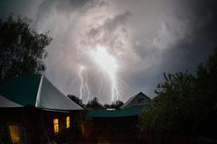 Stock Photo of Thunderbolt