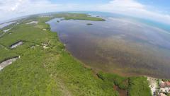 Florida Keys Key Tarvernier 2 Stock Footage