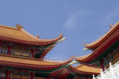 chinese architecture building - stock photo
