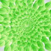 Stock Illustration of green leaves illustration design