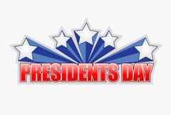 Stock Illustration of presidents day sign illustration design