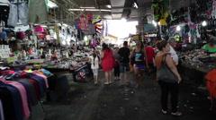 Stock Video Footage of Walk through the Carmel Market in Tel-Aviv