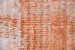 Rust texture zinc wall for background Stock Photos