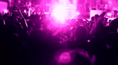 Led Colored Concert background Stock Footage