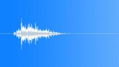 Short Plastic Object Slide or Push Sound Effect