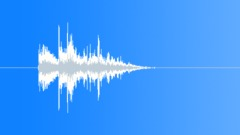 Stock Sound Effects of Flimsy Light Metal Slap Ground Hit 7