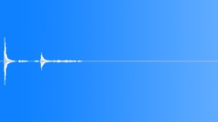 Thin Metal Sheet Ground Hit - sound effect