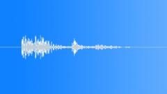 Stock Sound Effects of Plastic Bin Hit